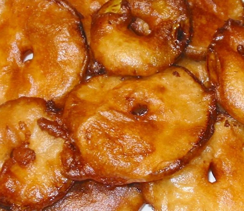 Apple fritters are a lovely dessert. Learn how to make them here