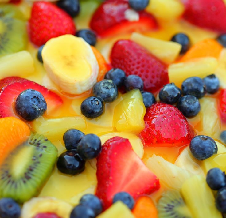 See the delightful recipe for Ambrosia fruit salad that includes citrus, coconut and a wide range of fresh fruits