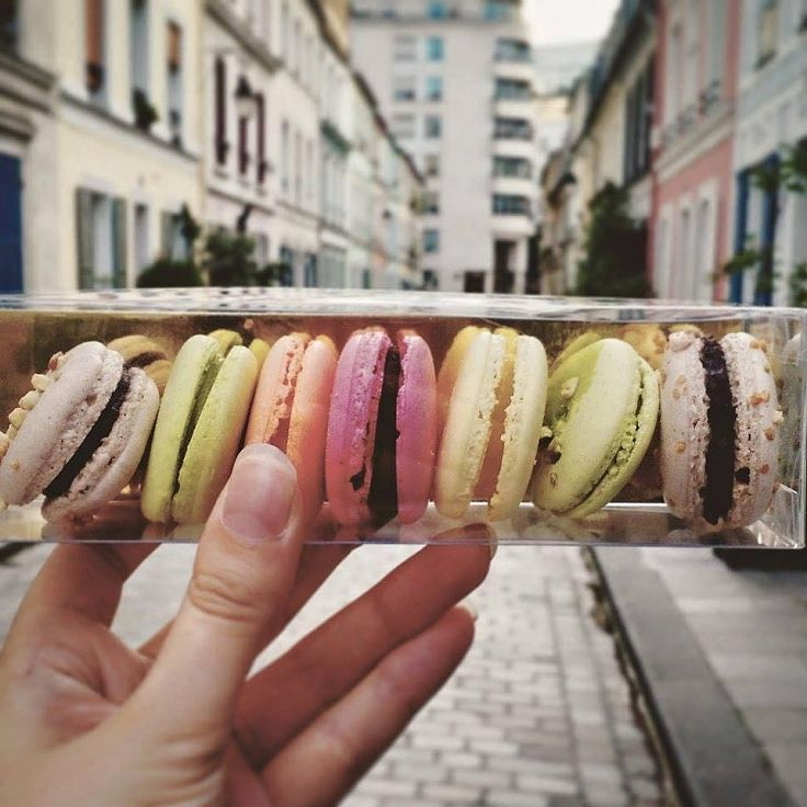 Colorful macarons made with aquafaba and organic natural food colors