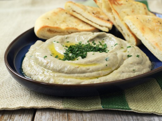 Grilled eggplant dip is a wonderful appertizer and is great for parties and barbecues
