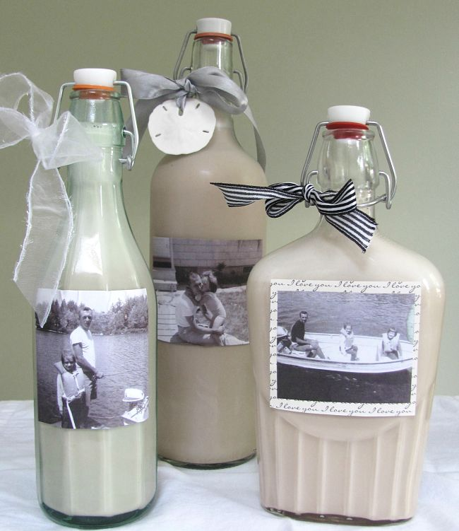 Homemade Baileys Irish Cream makes a great gift. Learn how to make it at home here