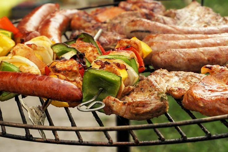 Lovely range of barbecued items to suit all tastes and preferences - all perfectly cooked. See how to do it here.