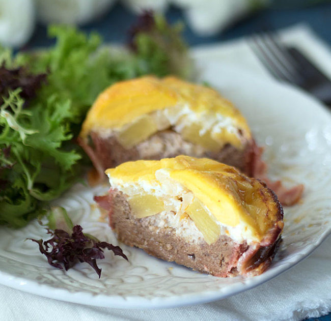 Lovely egg and cheese filled beer can burger - simply delicious as a snack or barbecue meal