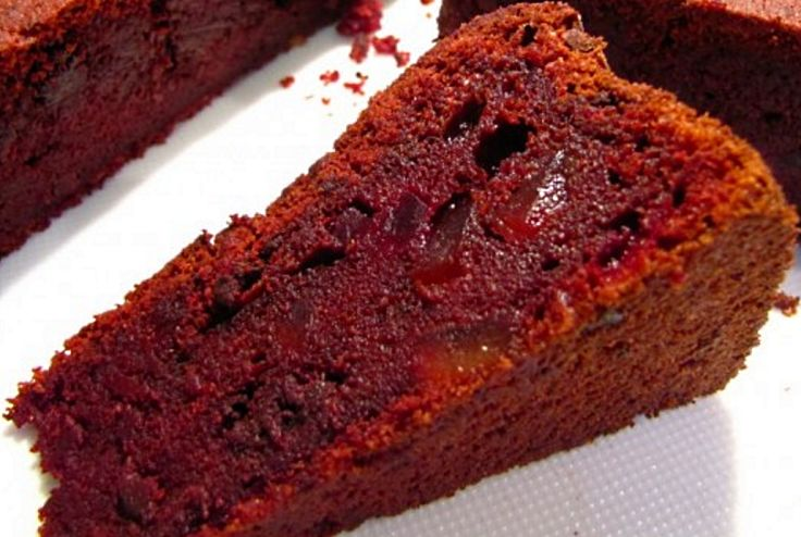 Beetroot Chocolate Cake - What a delight!