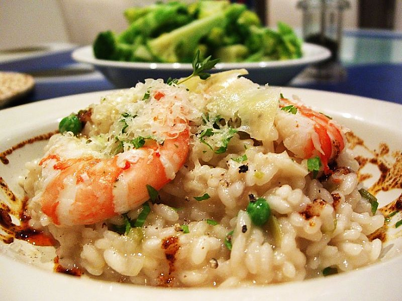 Prawn risotto is a delightful dish that is easy to prepare and is very health using these recipes