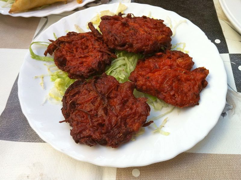 Onion Bhaji are great as a snack of starter. Learn how to many them yourself with this easy to follow recipe
