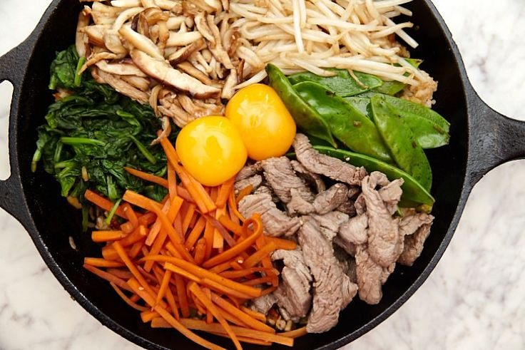Lovely bibimbap ready to serve. Discover the wonderful array of recipe options in this article