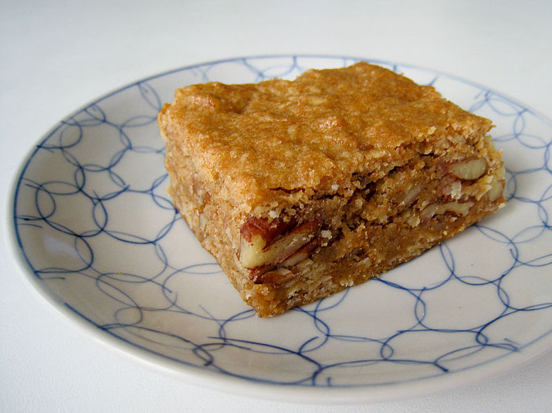 You can make delicious vegan blondies like these. See the fabulous collection of blondie recipes