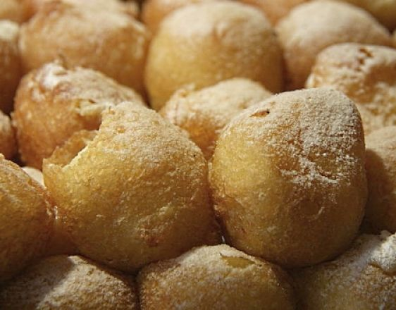 Cherry Bunuelos are easy to make at home and are delicious. Your whole family will love them.