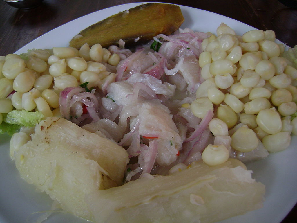 Ceviche dishes are easy to prepare, using lime juice or other citrus juices to marinate and 'cook' the seafood