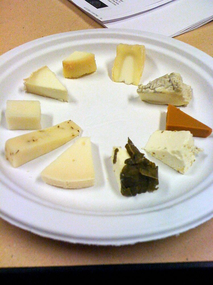 An attractive layout enhances the appeal of cheese platters. It is really worth the effort