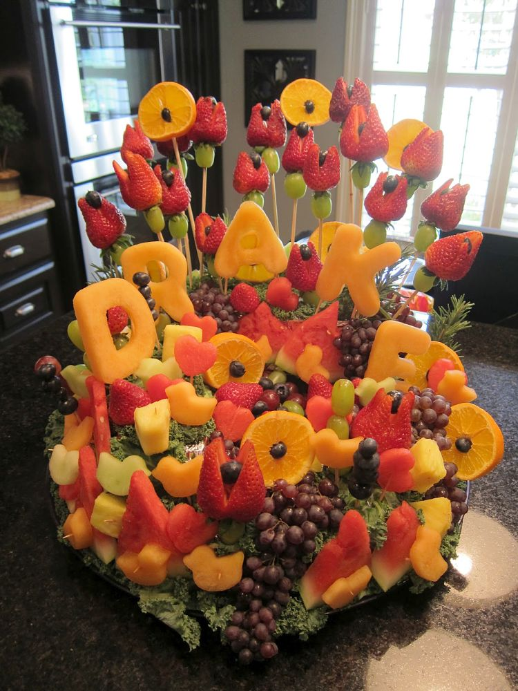 Food platters can be works of art providing fabulous displays for a lovely treat at a party