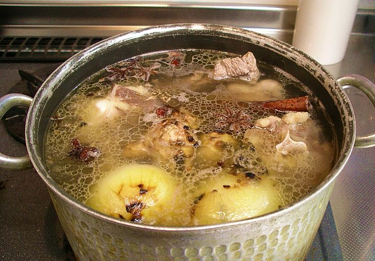 Homemade stocks are much nicer and are easy to make. The active time is 15-20 minutes, though they need to be simmered for 4-6 hours. Learn how to do it here.