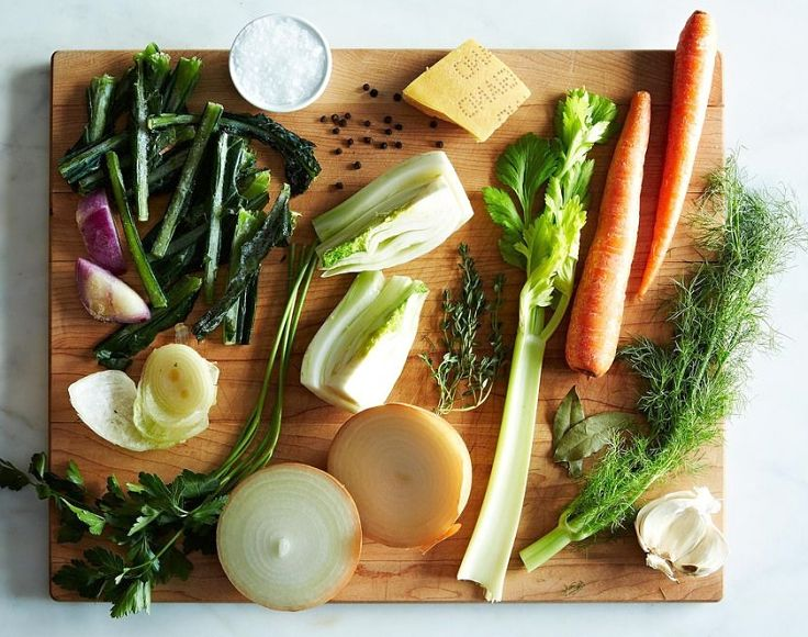 Here is what you need to make a fabulous stock and soup base at home - wholesome inredients