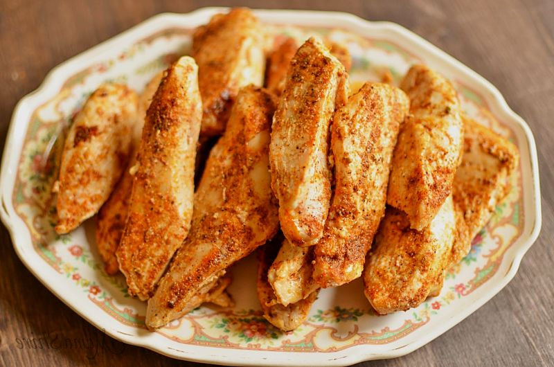 Baked Cajun Chicken Strips - Delicious - Learn how to prepare and cook it here