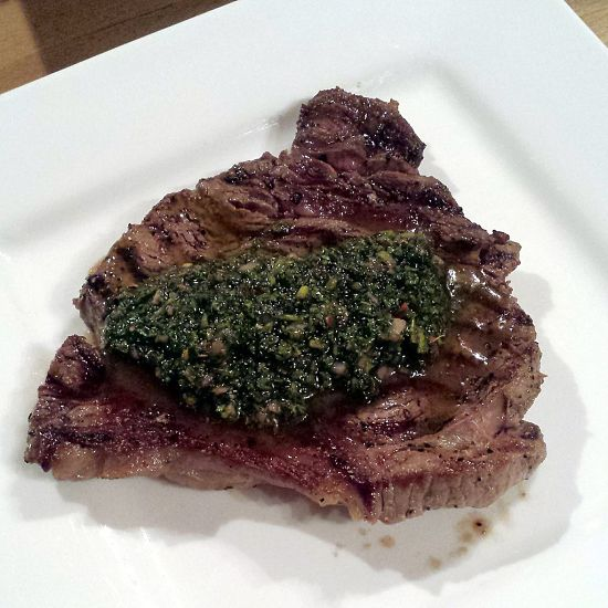 Chimichurri sauce shared between friends is a delightful ritual common in Argentina from which it originates.
