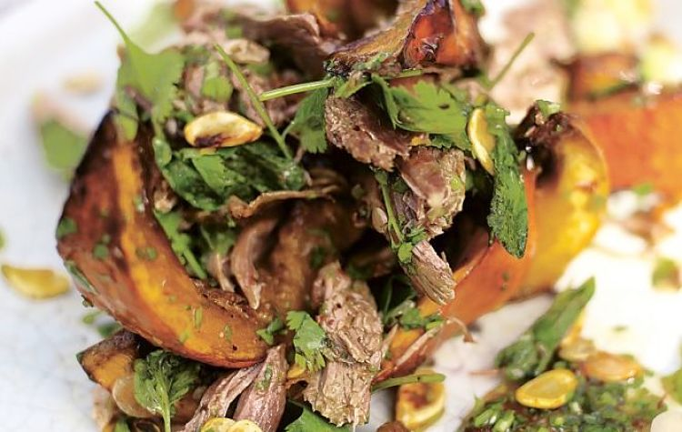 Asian Squash Salad With Crispy Duck - see the grest range of recipes here