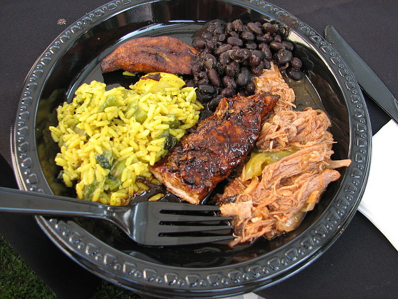 Rice and black beans with pork and beef are typical Cuban Dishes. Learn to make Cuban food at home.