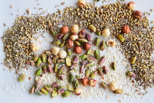 Wholesome ingredients used to make Dukkah at home. See the great array of recipes here is this article