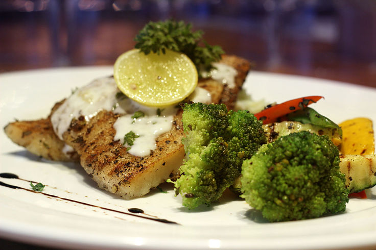 A delicate white sauce flavored with fresh herbs is the perfect accompaniment for crusted grilled or barbecued fish fillets