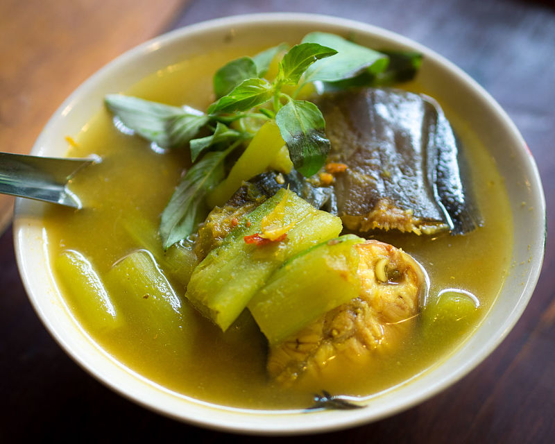 Thai fish curries are delicate and retain the flavor of the fish
