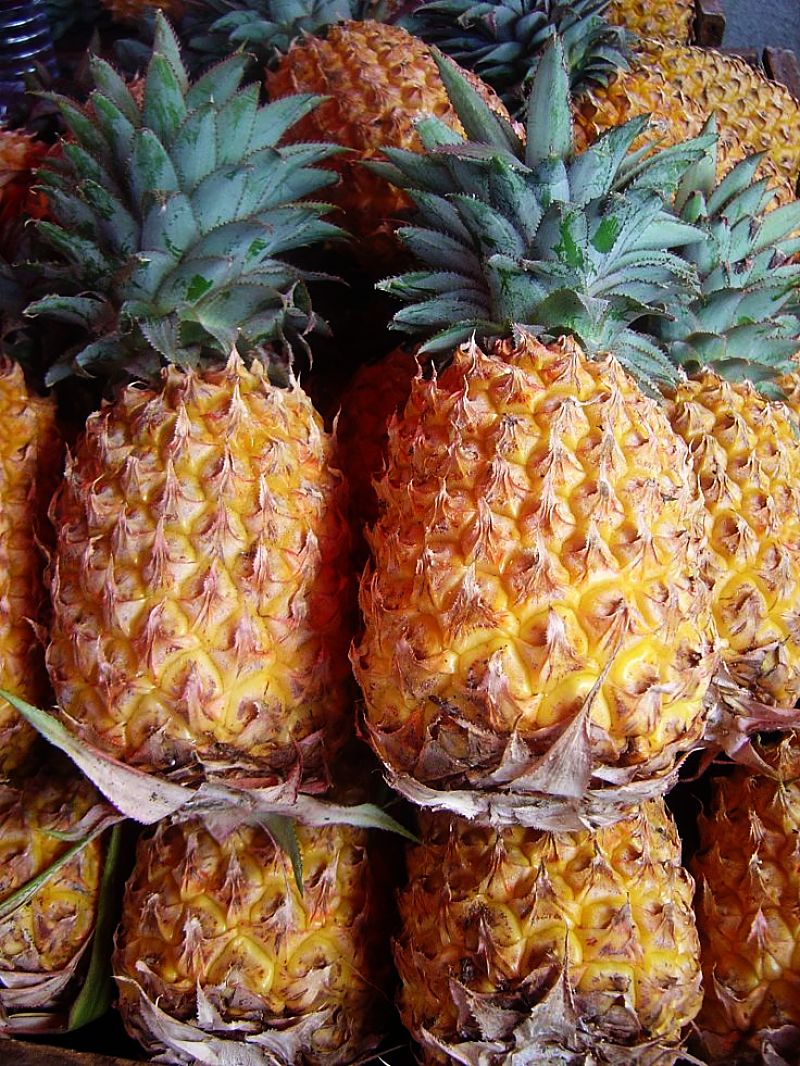 Fresh ripe pineapple has many uses and can be used in a wide range of savory and dessert dishes