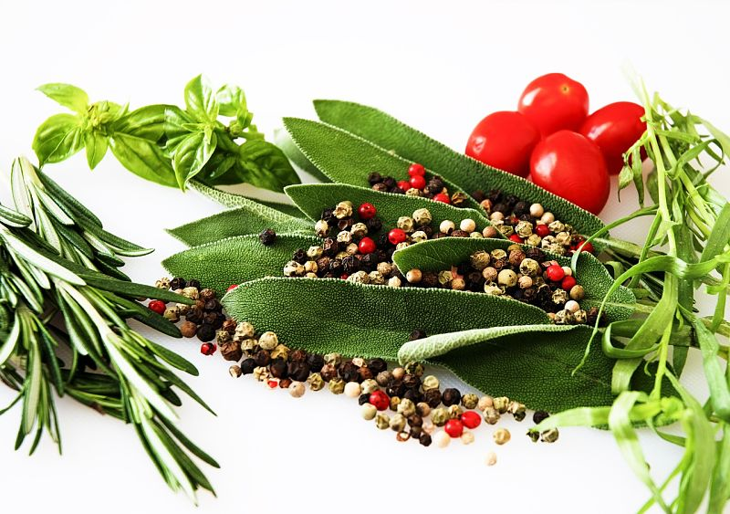 Fresh herbs and Spices really improve most dishes, including desserts.