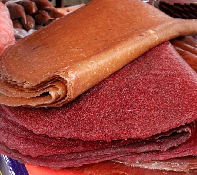 Beautiful fruit leather and fruit strips can be easily made at home