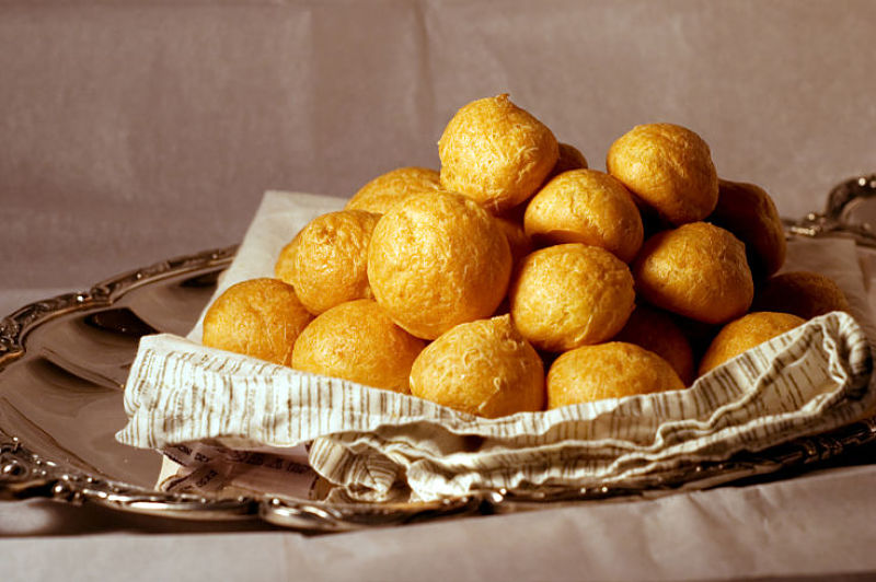 Cheese Gougeres are easy to make at home and are a delight when served with wines. See the recipes here.
