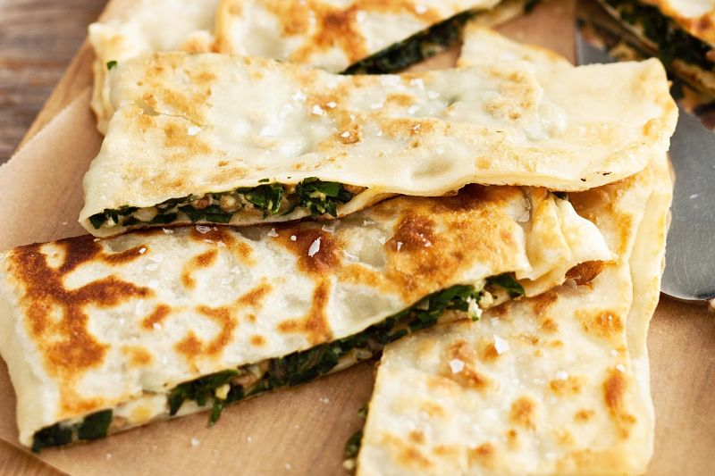 Gozleme is great for a snack or as a party food. It also adds intrigue to a barbecue. Learn how to make it here