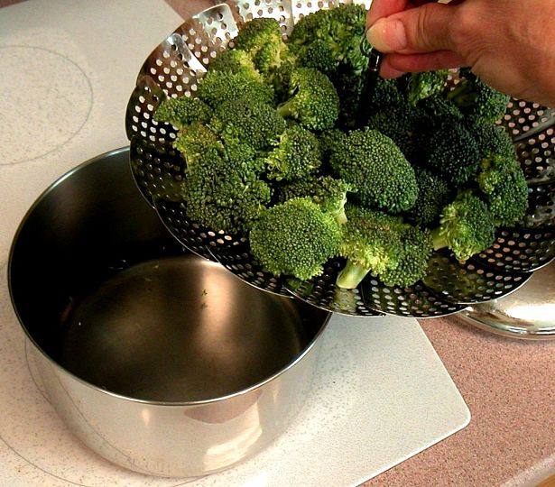 Steaming vegetables helps to retain the most nutrients because boiling tends to flush out the nutrients into the cooking water