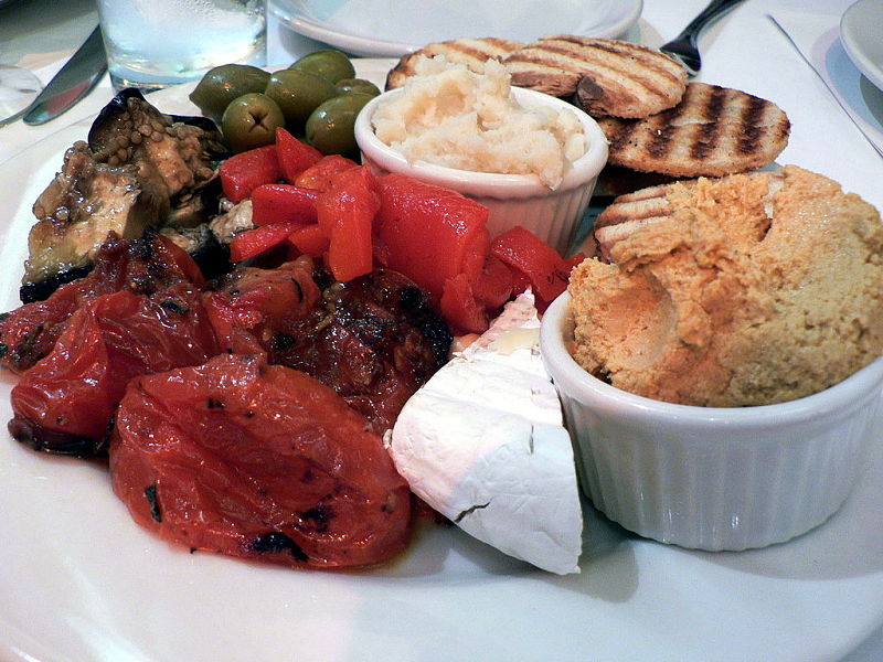 Grilled and barbecued vegetables make a wonderful meal when served with fresh bread and a variety of dips