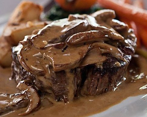 Beautifully cooked Steak Diane - learn how to make the sauce here