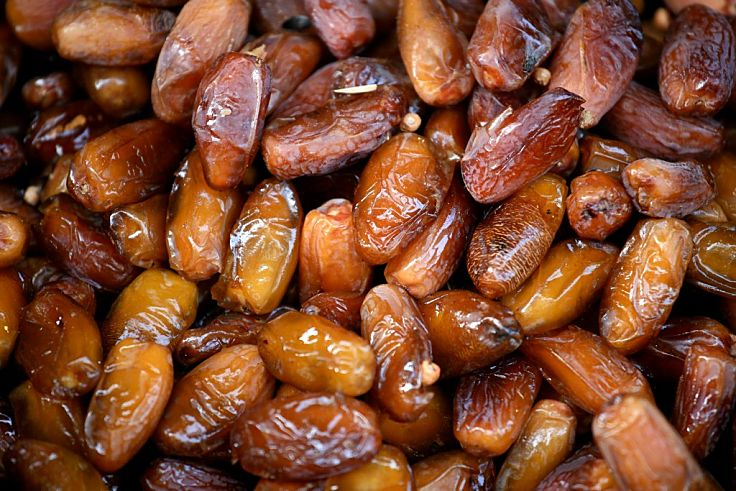 Dates are a versatile high energy food that are a good source of fiber, vitamins and minerals. See the nutrient information here