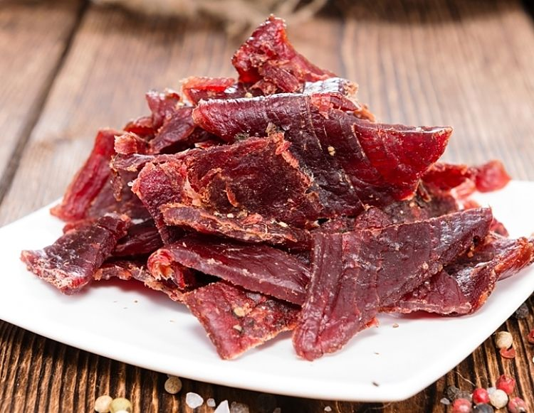 Beef jerky is a wonderful snack with a beer or other drinks