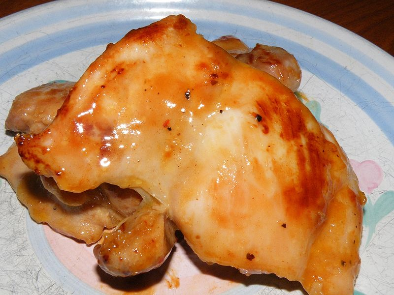 Honey Mustard Chicken Recipe is moist sweet and spicy