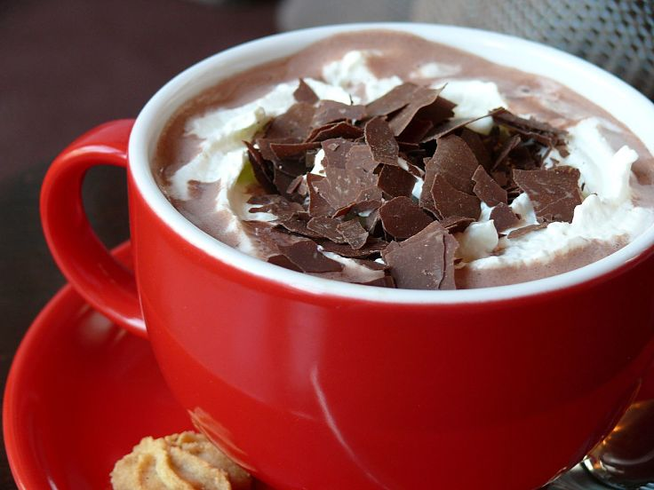 Adding herbs and spices to hot cocoa boosts the flavor and warms your heart