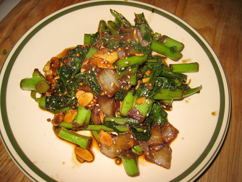 Bok choy delight - is easy to prepare