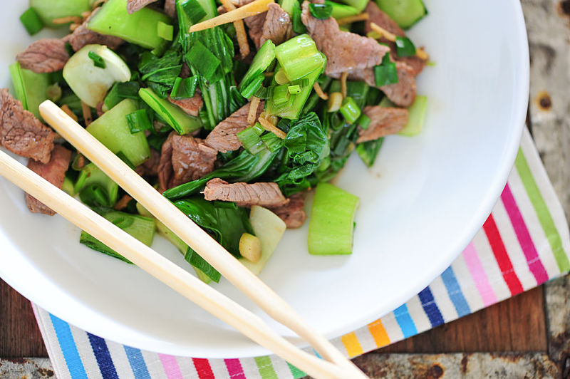 Ginger beef stir-fry is a classic the whole family will enjoy. dee the recipe here