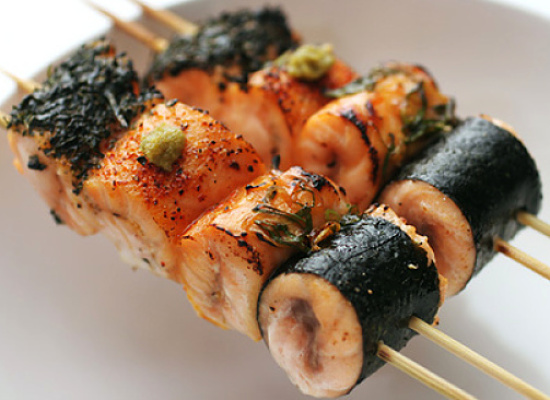 Make your own special Yakitori by combining ingredients that you love