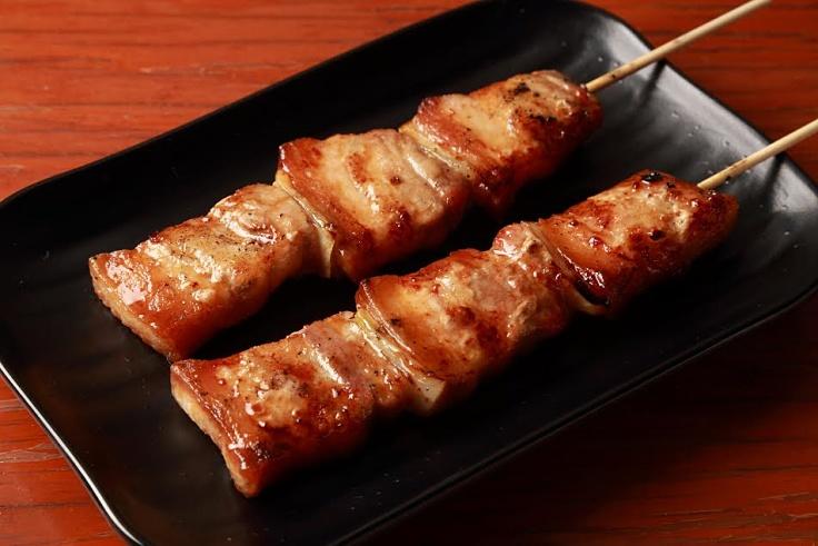 Hasil gambar untuk pork yakitori