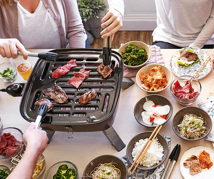 A simple setup for homemade Korean Barbecues