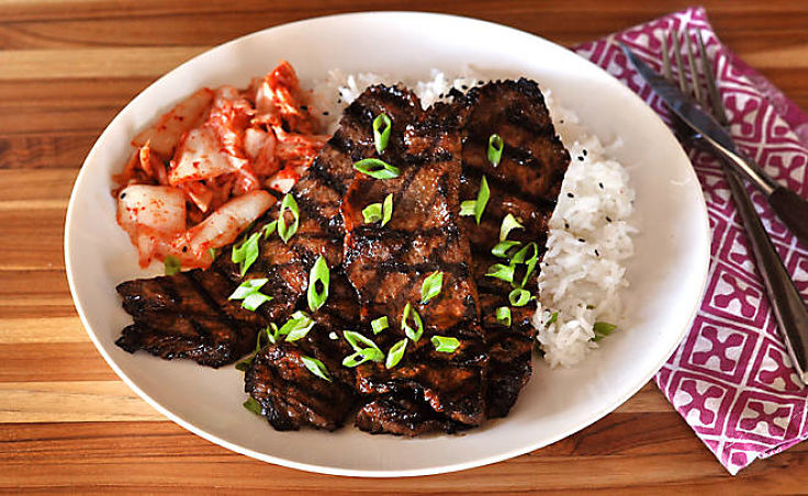 Wagyu Beef Korean BBQ Short Ribs Recipe - See more recipes in this article
