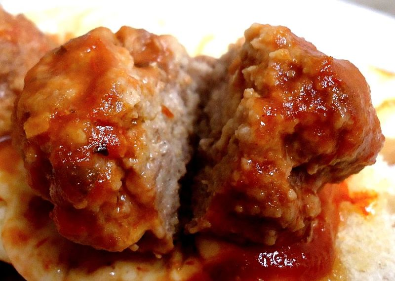 Meatballs are delicious and a great sauce really tops off the dish
