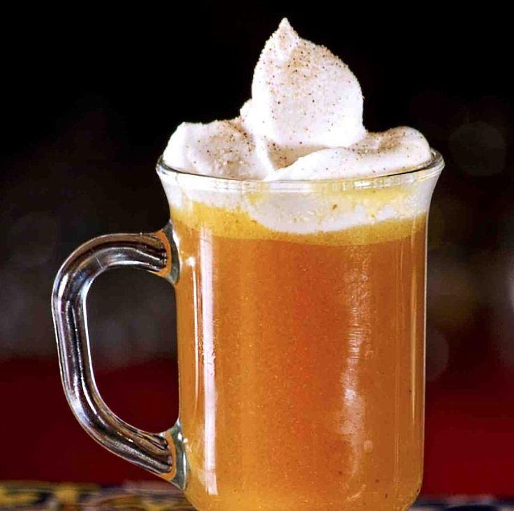 You can add orange juice to hot buttered rum to create a unique taste
