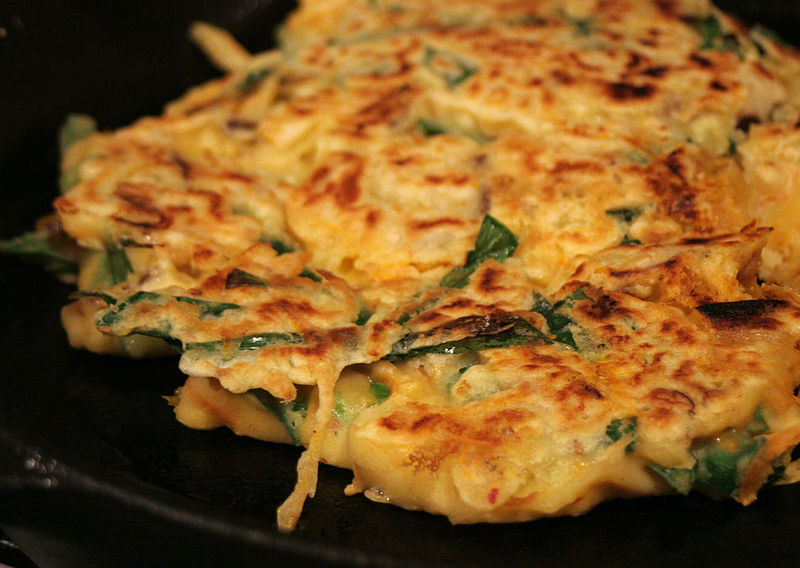 Pajeon Pancakes Recipe - delightful with local seafood