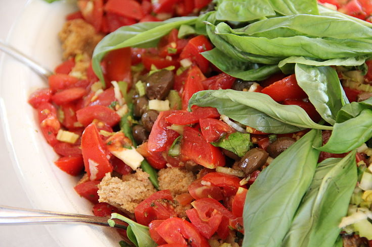 Panzanella is a delightful way to showcase the delights of ripe fresh tomatoes in season. See the collection of fabulous Panzanella recipes in this collection
