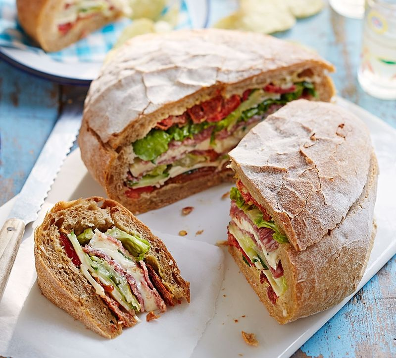 Sandwiches are safe but you need to make the effort to create something special