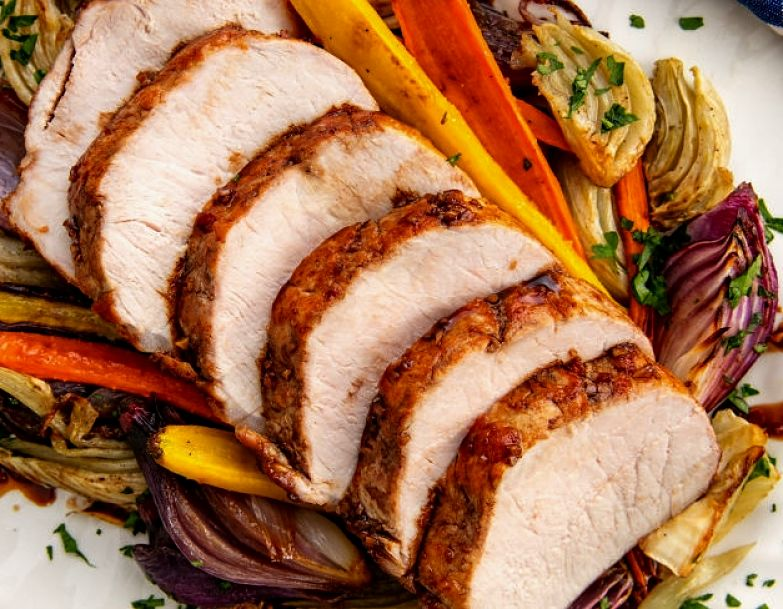 Boneless Pork loin is a classic Cook-Once, Eat-Twice Dish that the whole family will enjoy. See the great recipes here.