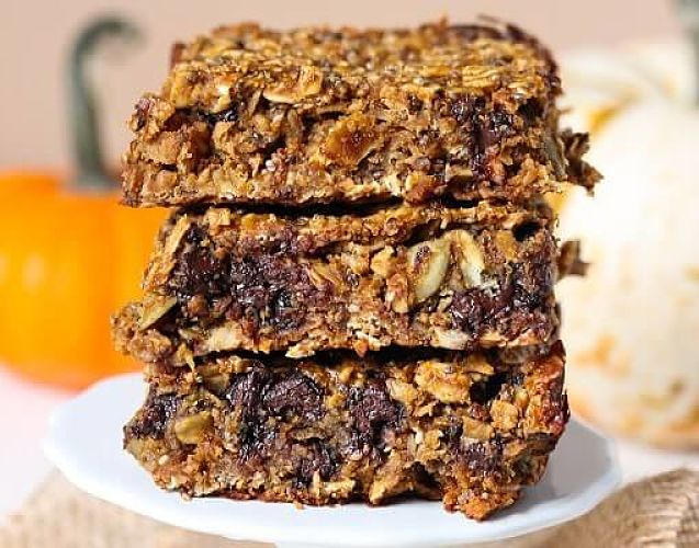 Pumpkin Granola Bars are a healthy snack. They are easy to make using these recipes.